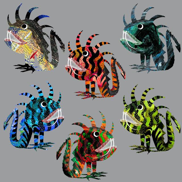 mutaciones, variaciones, tarasca