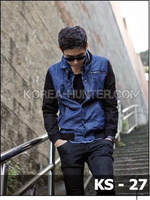 KOREA-HUNTER.com jual murah Jaket Denim Korean Style | kaos crows zero tfoa | kemeja national geographic | tas denim korean style blazer