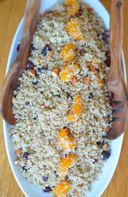 Quinoa Salad With Toasted Almonds Recipes — Dishmaps