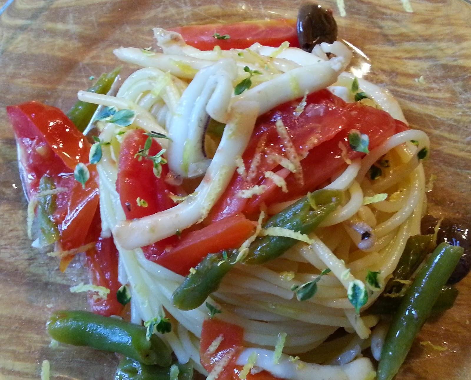 Fatemi cucinare spaghetti seppie e fagiolini - Cucinare i fagiolini ...