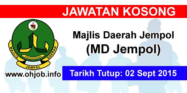 Jawatan Kerja Kosong Majlis Daerah Jempol (MDJ) logo www.ohjob.info september 2015