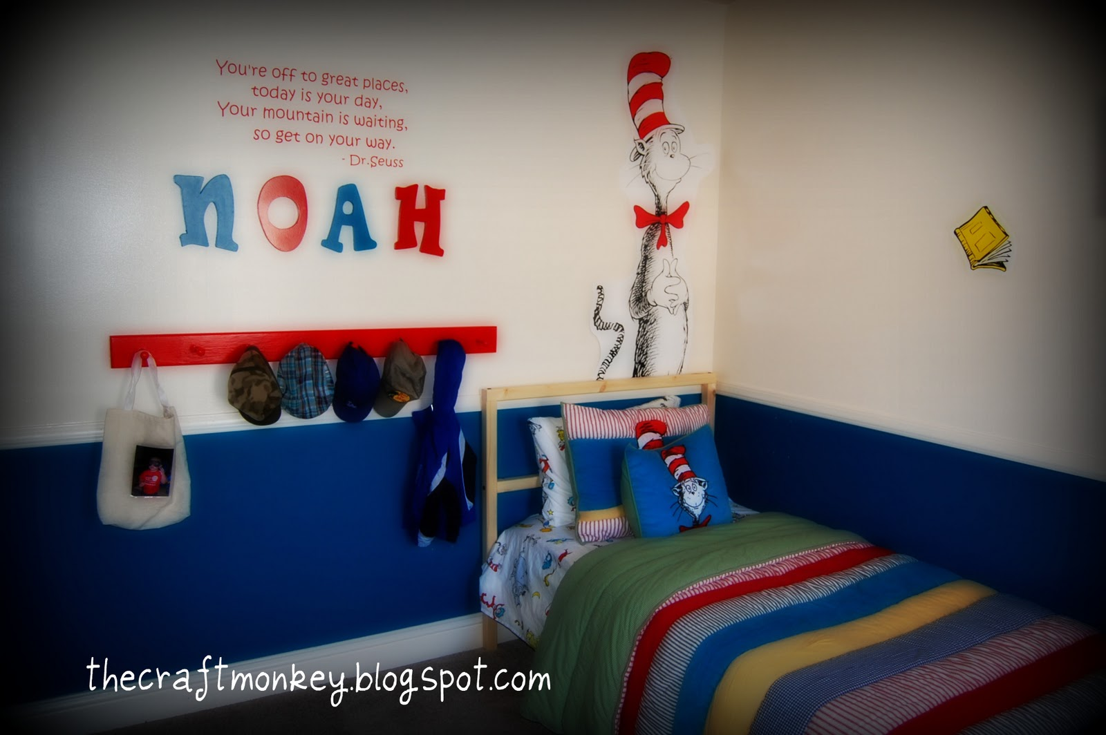 dr seuss themed kids room ideas design dazzle