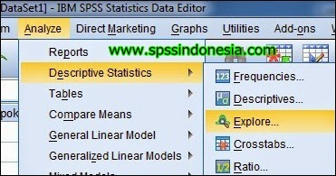 how to get shapiro wilk test in spss