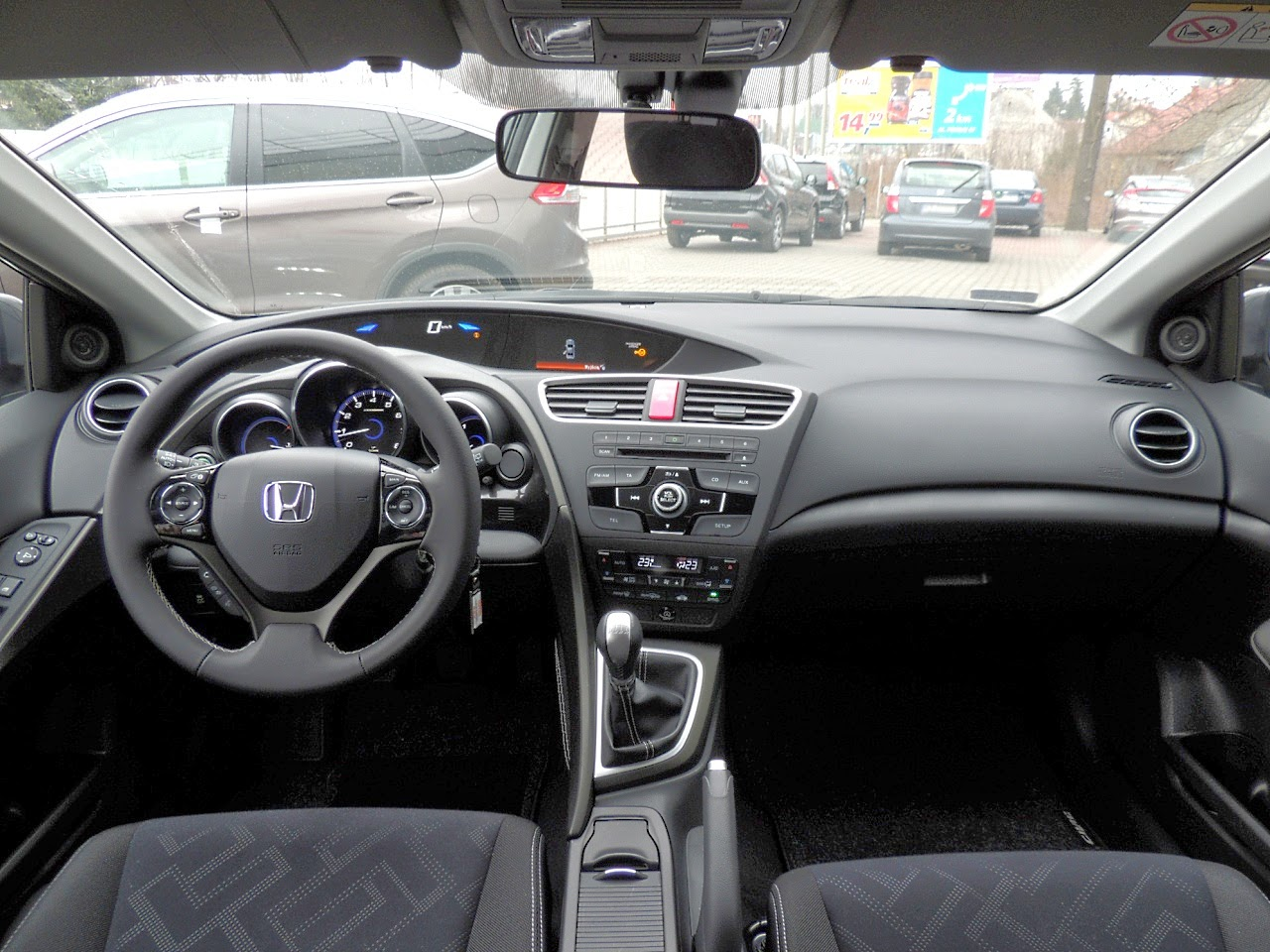 Honda Civic Tourer - wnętrze