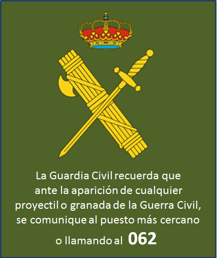 Aviso Guardia Civil 062