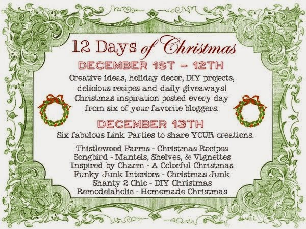 12 Days of Christmas Linky Parties