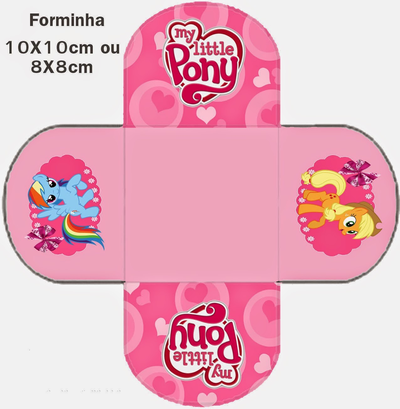 My little pony colouring table - My Little Pony Free Printable Kit