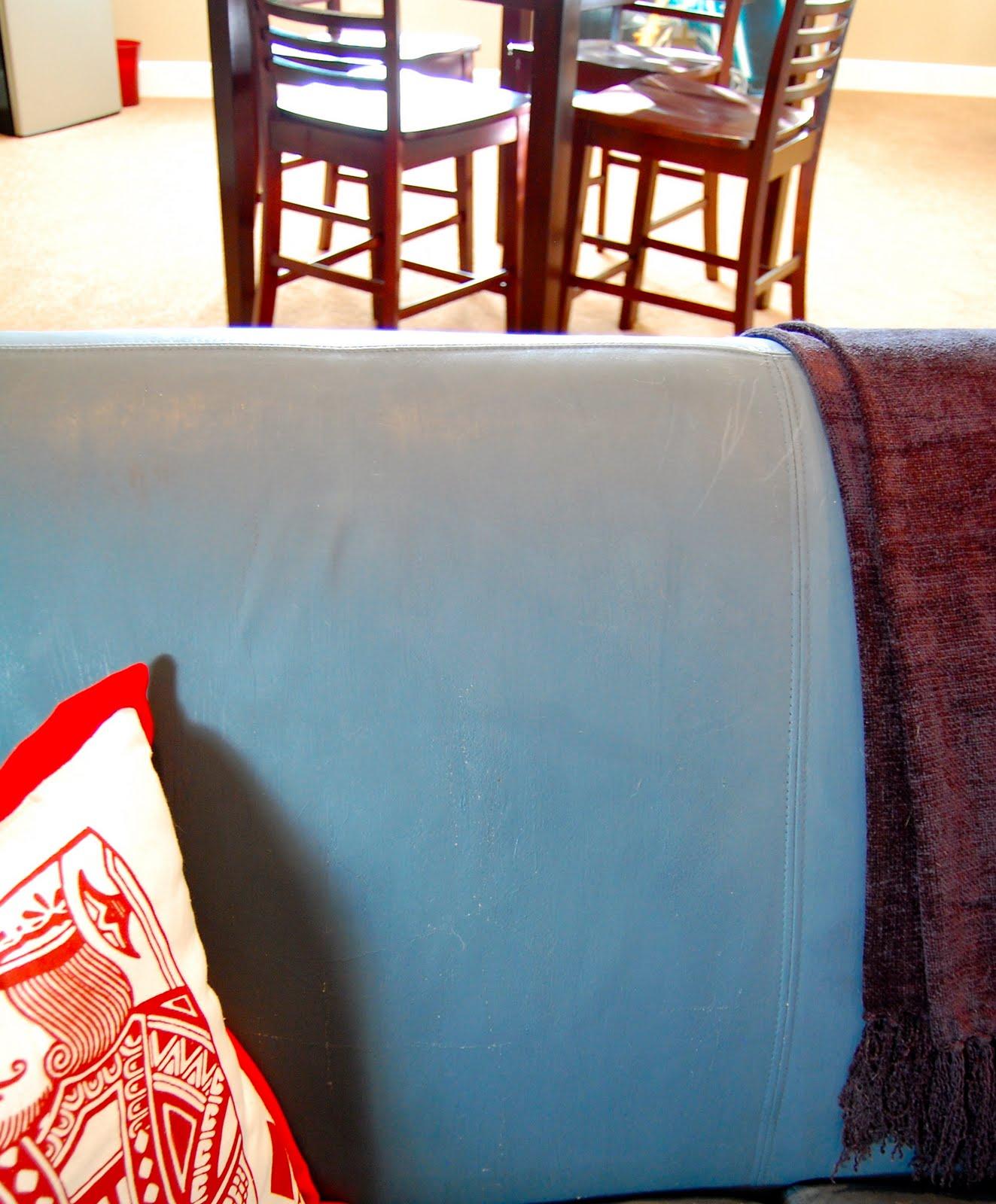 ASCP Leather Sofa
