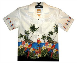 Hawaiian Parrots Shirt