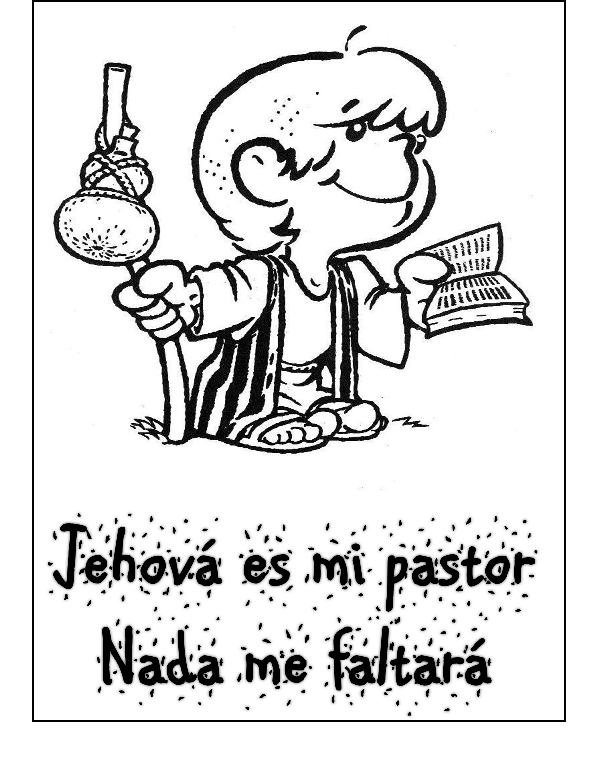 foto de Laminas cristianas para pintar ~ Dibujos Cristianos Para