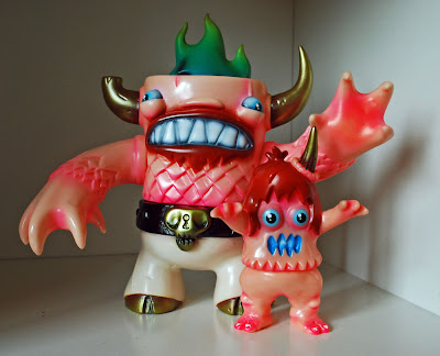 """Companion Monsters"" Manotaur & Ugly Unicorn Vinyl Figure Set by Rampage Toys"