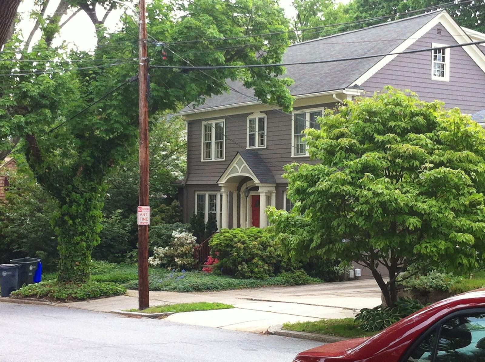 Nestling grey house, Providence