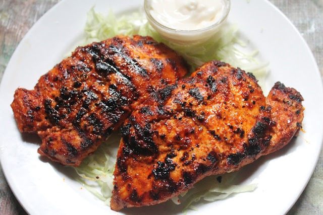 YUMMY TUMMY: Spicy Grilled Chicken Breast Recipe