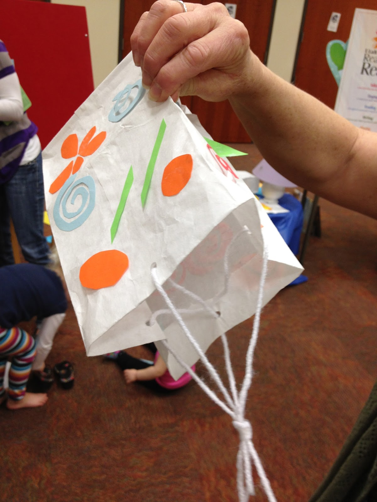 Preschool Spring Crafts Kites
