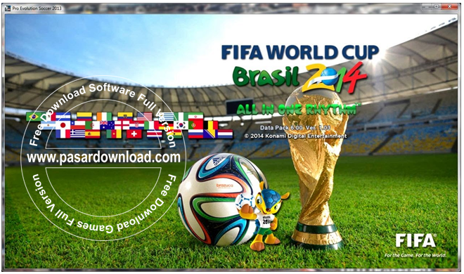 Free Download Ultimate PESEDIT PES 2013 V2 AIO – Patch FIFA World Cup 2014