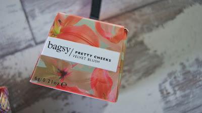 Bagsy Pretty Cheeks Velvet Blush