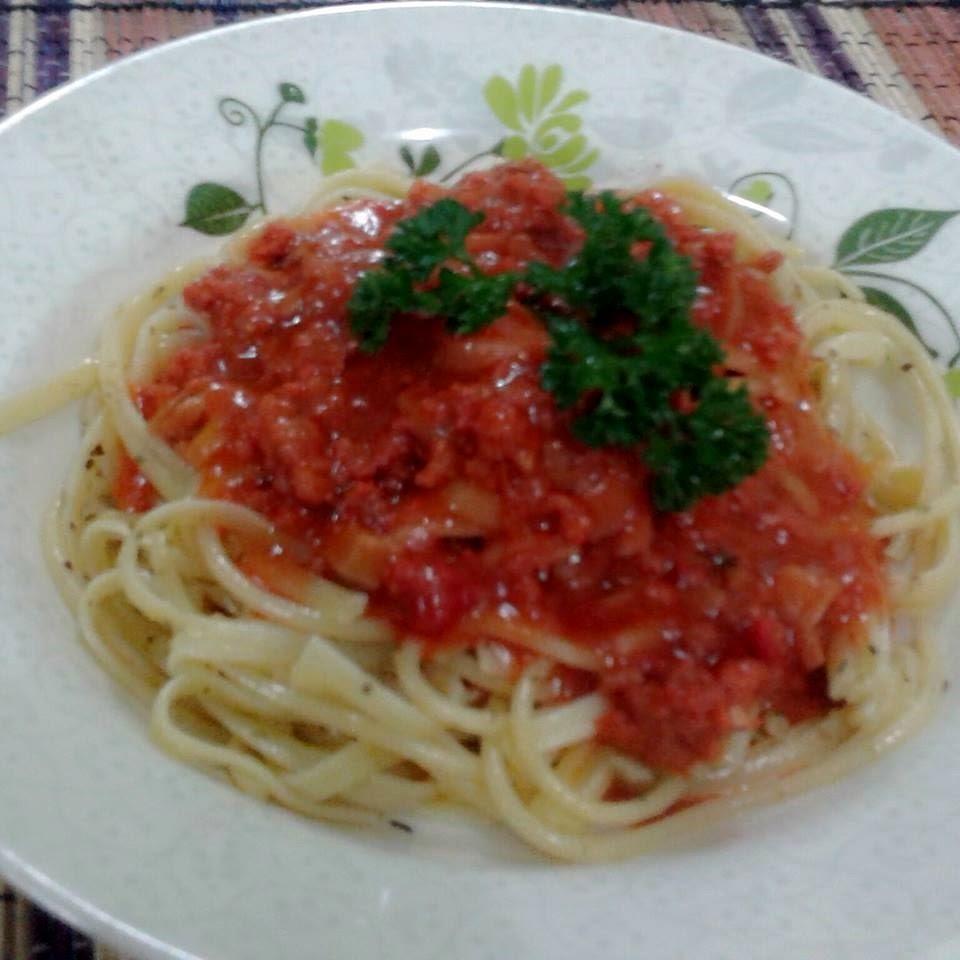 cara masak spaghetti, rahsia spaghetti sedap, bahan spaghetti, majerin, planta, magerin planta, sos spaghetti, masak spaghetti