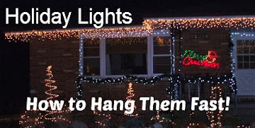 Want to Quickly Hang Lights?