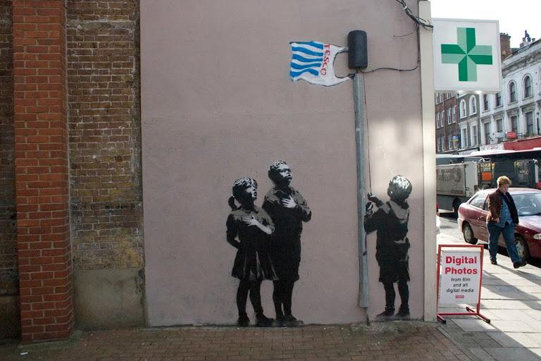 Banksy's work