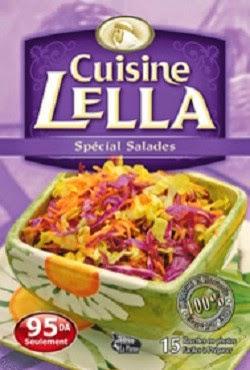 مجموعة من الكتب المتنوعة الخاصّة بالسّلطات و المقبلات Lella+-+special+salades