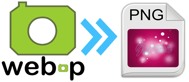 Menyimpan Gambar Format WebP ke PNG