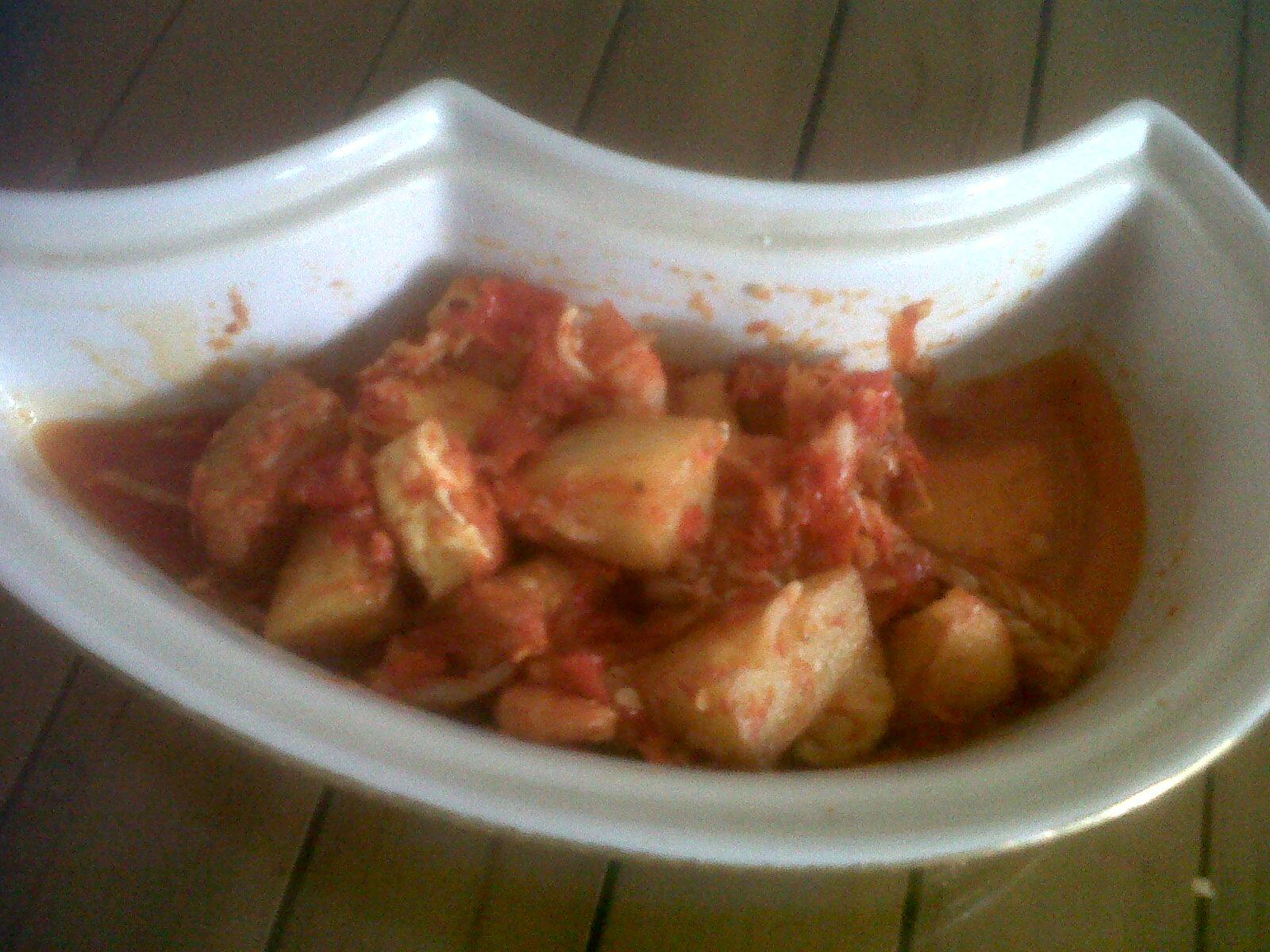 Udang kentang balado, wisata kuliner khas