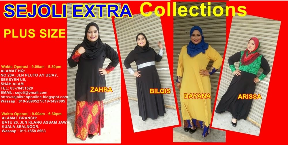 SEJOLI EXTRA : Plus Size Fashion