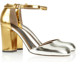 Marni mirrored pumps