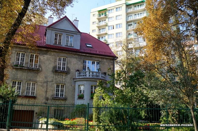 Warszawa Saska Kępa willa zabytek Praga Południe