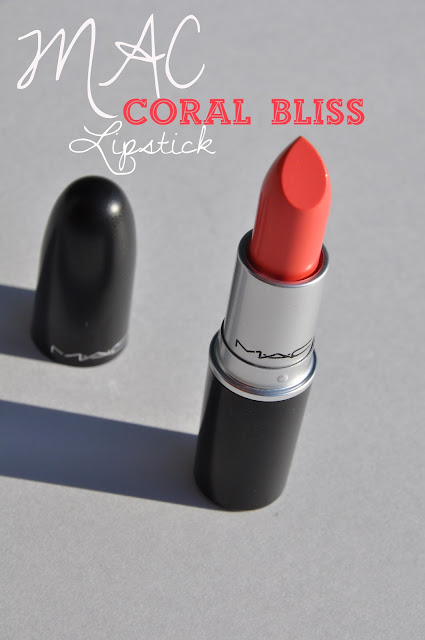Coral bliss mac lipstick