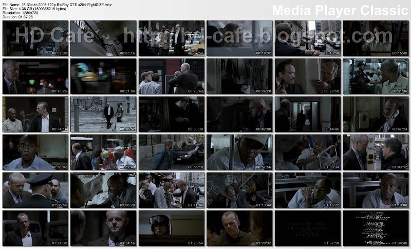16 Blocks 2006 video thumbnails