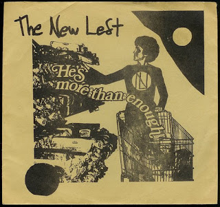The New Left - (He\'s More Than Enough) Drivin\' / It\'s Not Political  (1983)
