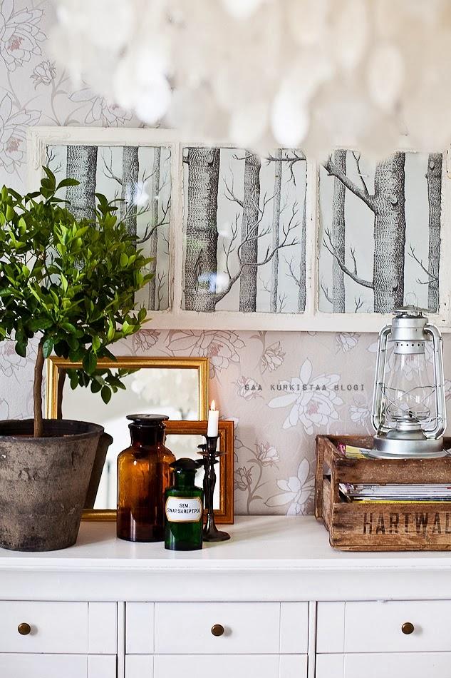 Ideas e inspiraci n de papel pintado para toda la casa boho deco chic - Papel pintado para recibidores ...