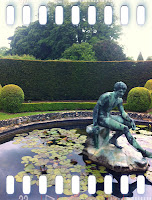 One of the gorgeous features of Holdenby House's gardens rarely open to the public