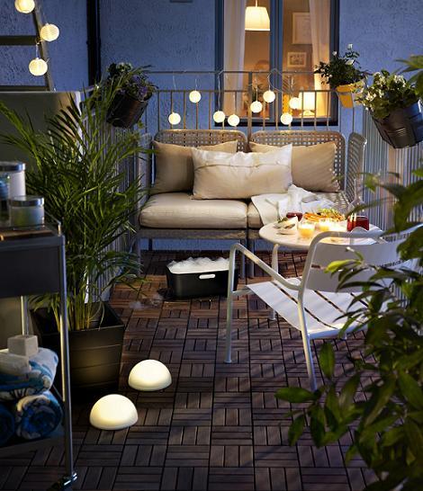 Decoraci n f cil farolillos para iluminar el exterior for Blog decoracion ikea