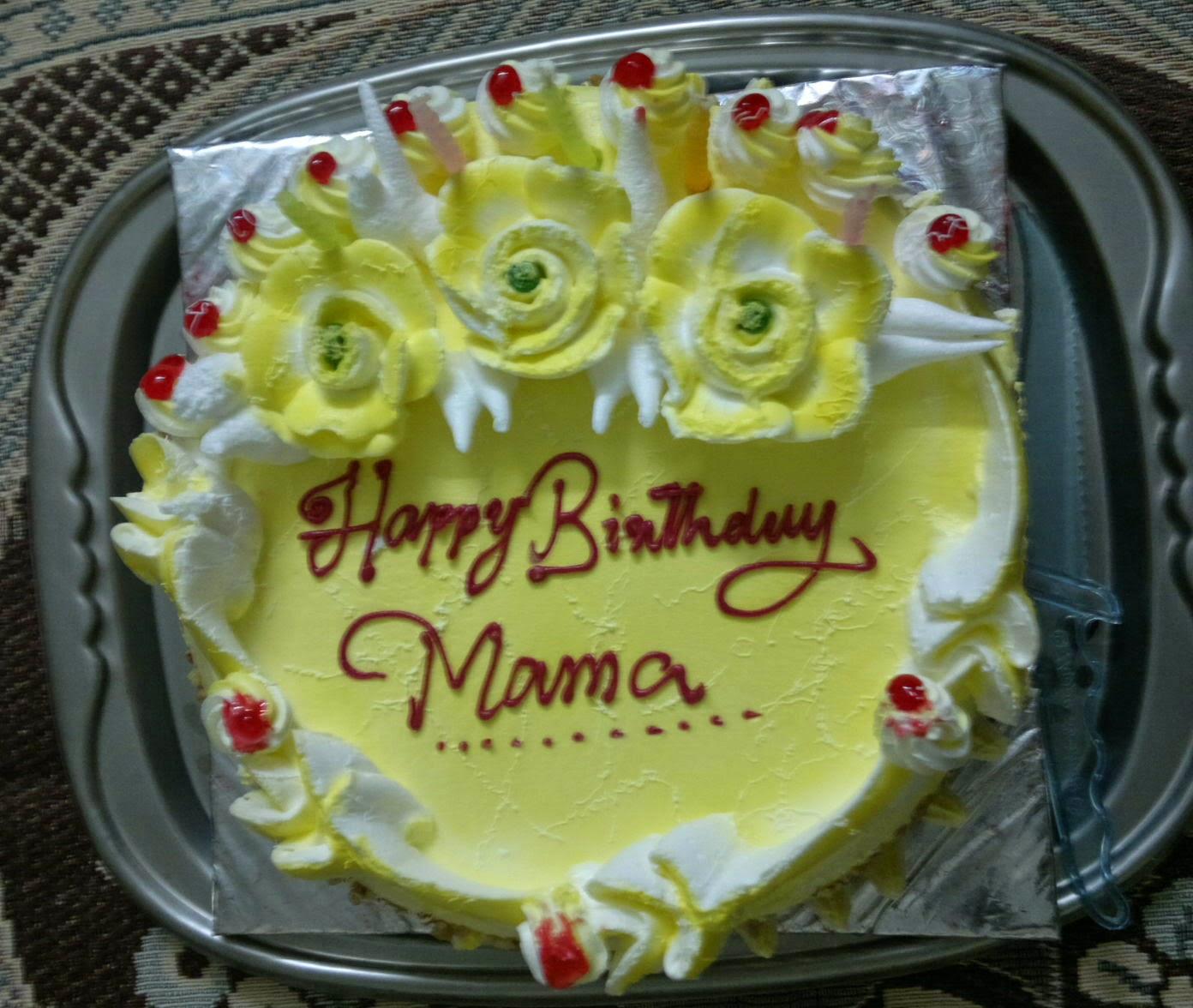 Mama Sama Biltu Birthday cake brought by KabitaMamas bday 2014