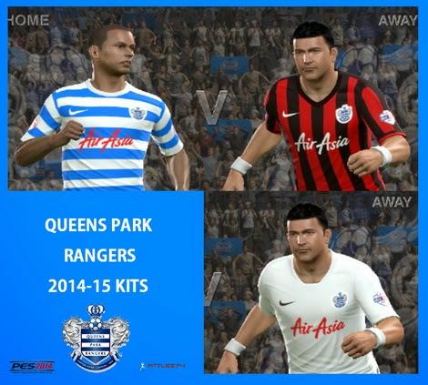 PES 2014 QPR 2014-15 kits by Attila74