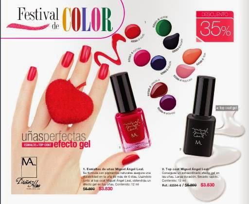 Esmalte de uñas MAL. C-5 2015
