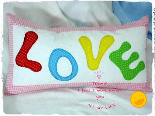 almofada do amor