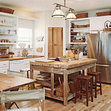 Coisa da paty inspira o em cozinhas r sticas - Cocina rustica barata ...