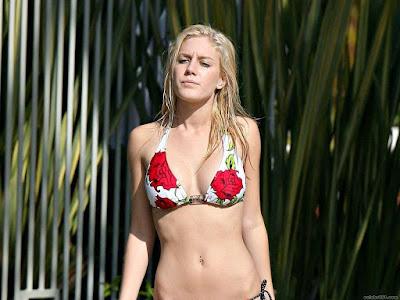 Heidi Montag Bikini Wallpaper