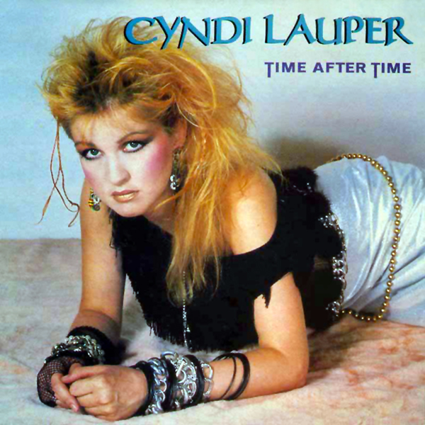 Netty Mac Train & Music News: CYNDI LAUPER - Time After Time