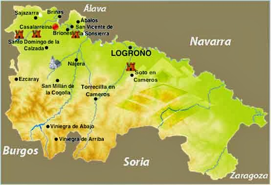 plano la rioja plan parcial El Marugal Tirgo elbloginmobiliario.com