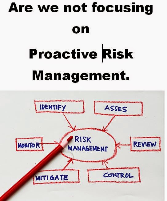Not focusing on Risk Management