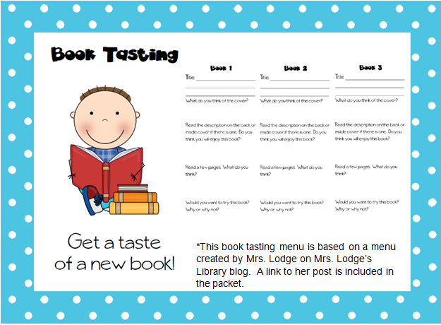 The Book Bug Book Tasting Anyone