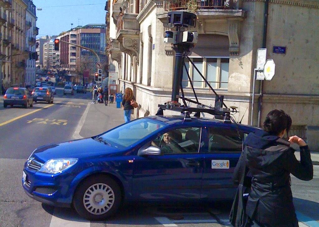 Google Street View a Perugia