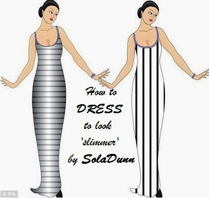 SolaDunn's Blog: How to dress to look slimmer! Vol 1!