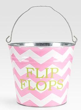 flip flop bucket