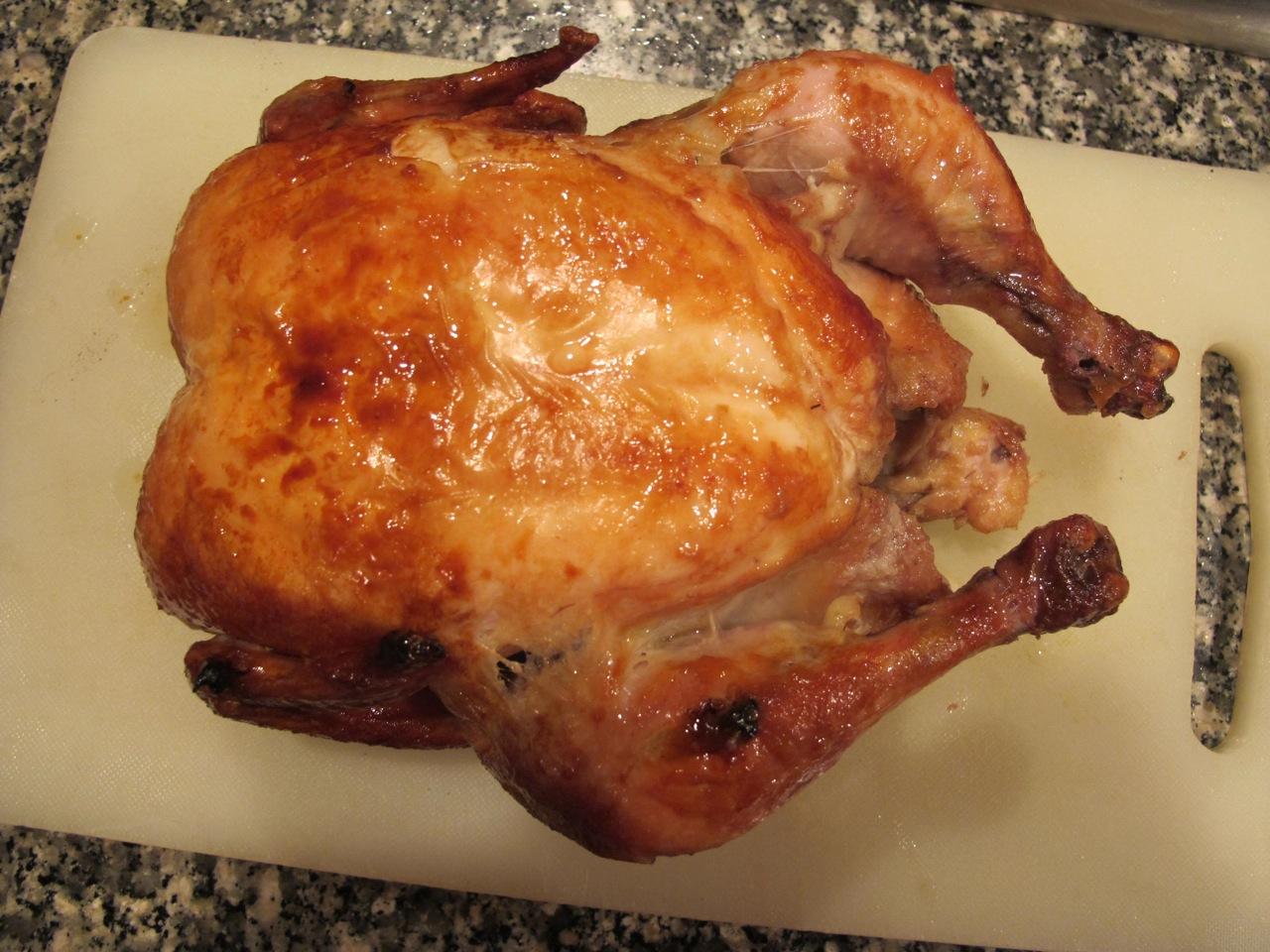 Simple Roast Chicken via Anthony Bourdain and Thomas Keller