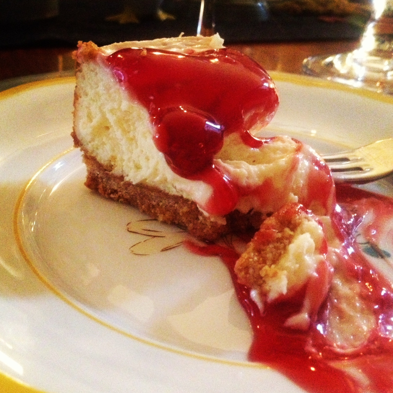 Mary Kay-St. Johns Cherry Cheesecake | Moore Family Adventures